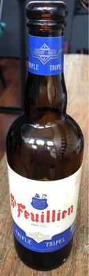 Bouteille De Bière Saint Feuillien Triple 75CL 8°5 - Product