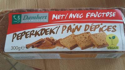 Damhert Peperkoek Met Fructose - Product