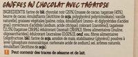 Damhert Tag Wafels Chocolade - Ingrediënten - fr