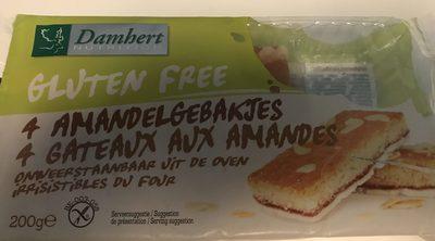 4 Gâteaux aux Amandes - Product - fr