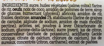 4 Gâteaux aux Amandes - Ingrediënten - fr