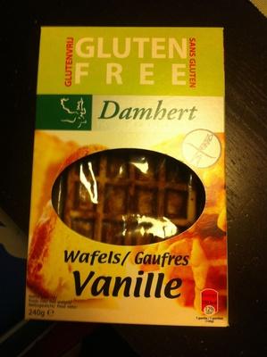 Gaufres vanille sans gluten - Produit - fr