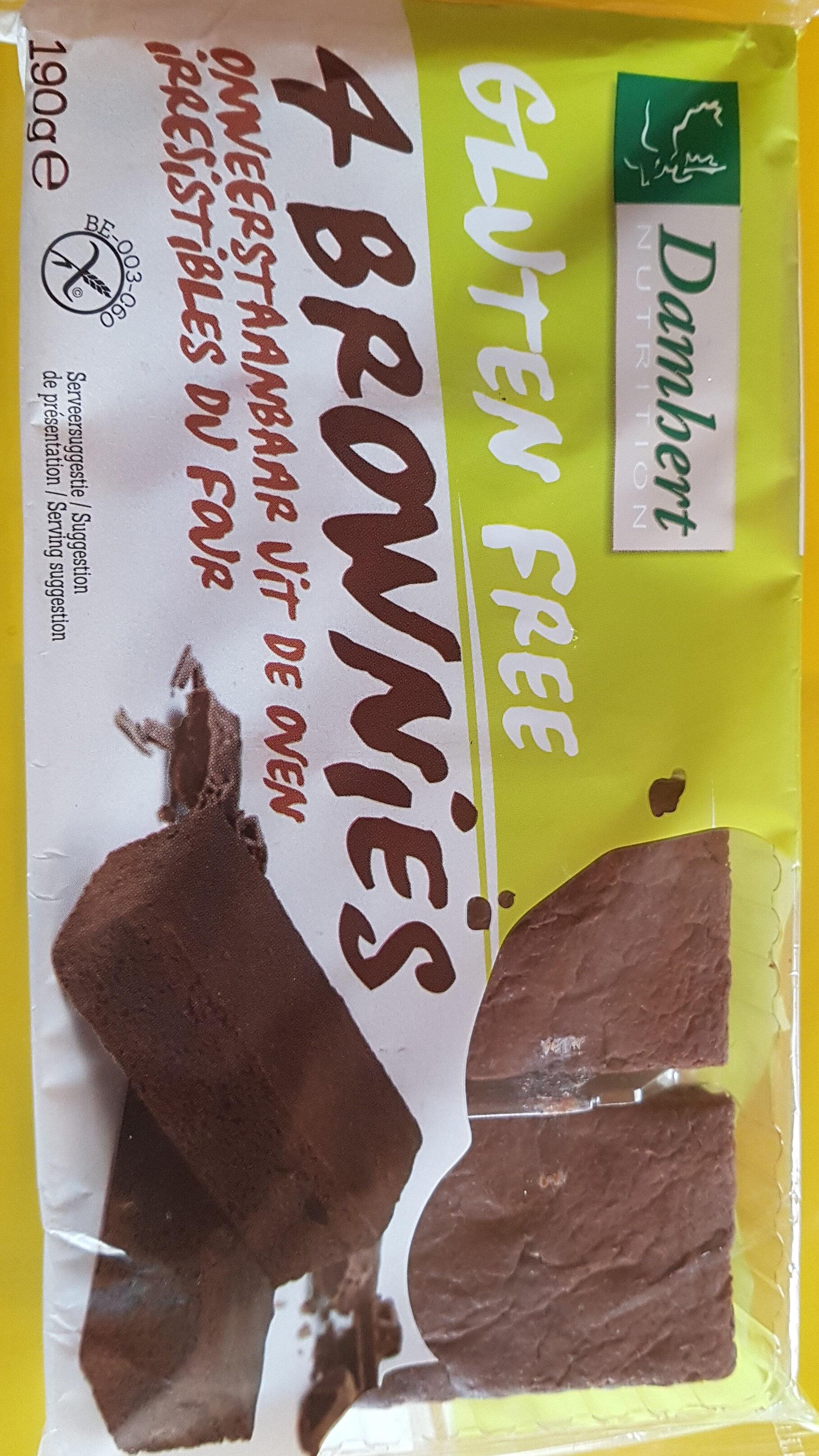 BROWNIES SANS GLUTEN - Product - fr
