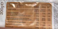 BROWNIES SANS GLUTEN - Nutrition facts - fr