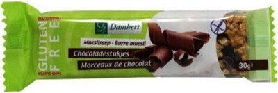 Damhert Glutenvrij Mueslireep Chocolade Glutenvrij - Product - fr