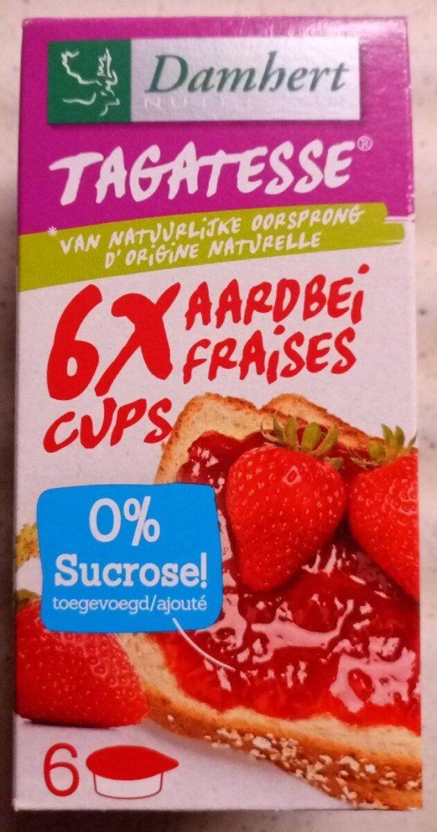 Confiture de fraises sans sucre - Product