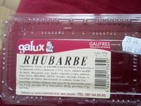 Gaufres Rhubarbe - Product