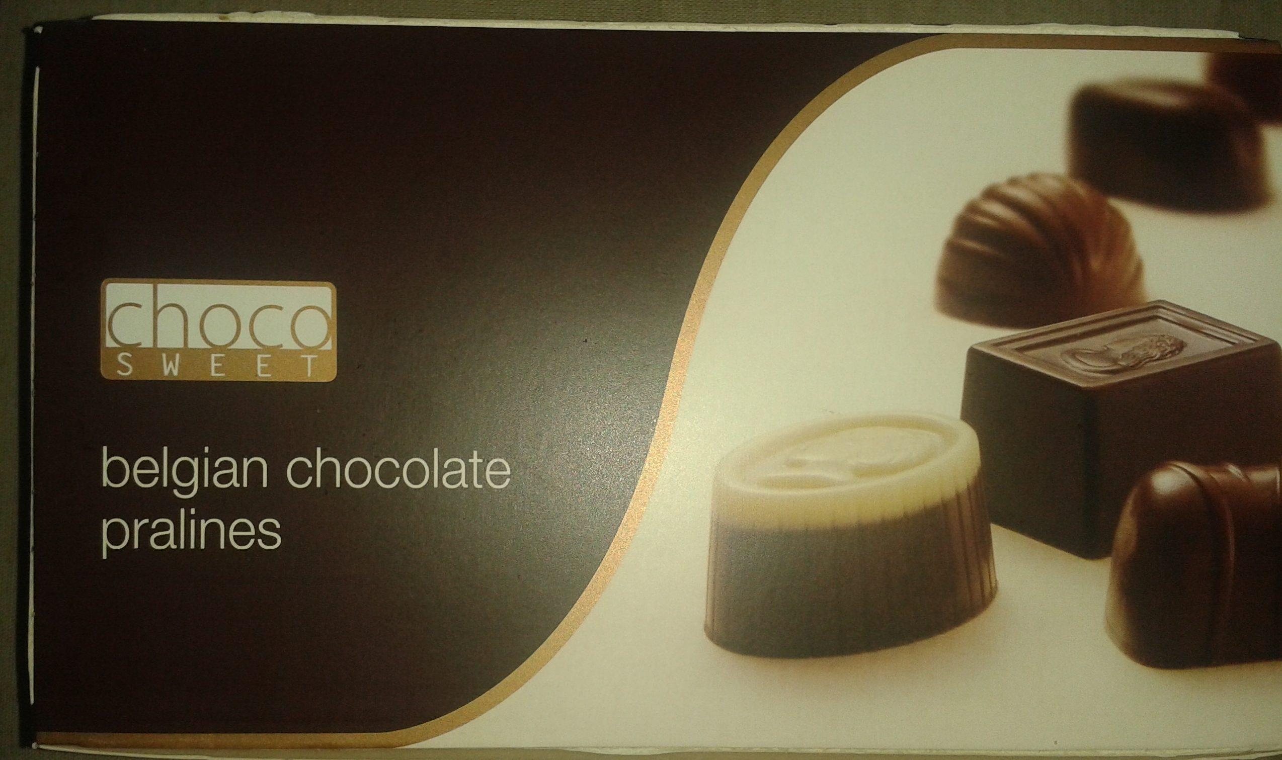 Belgian chocolate pralines - Product