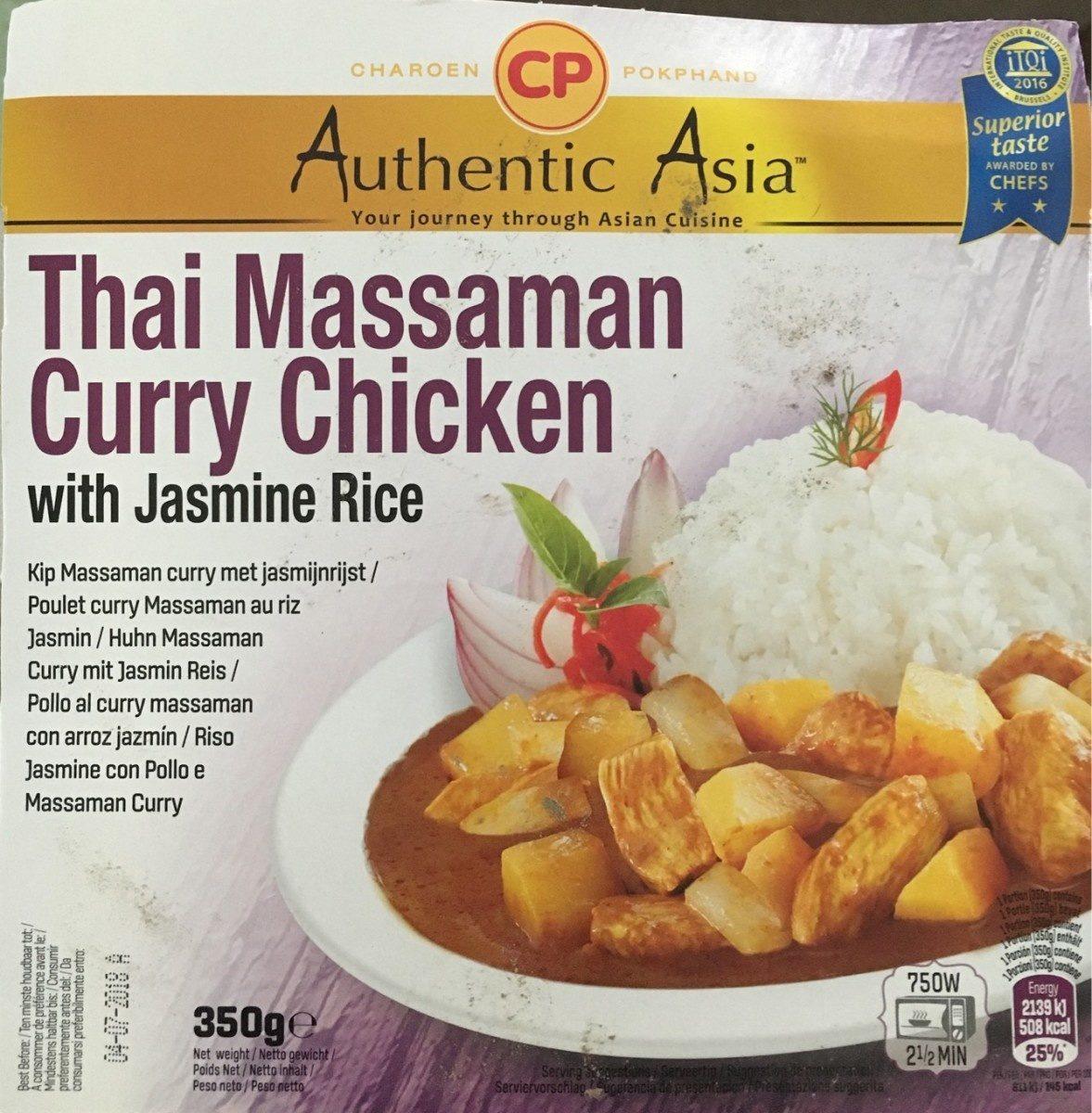 Thai Masaaman Curey Chicken - Product