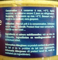 tartinade maquereau fumé - Ingredients - fr