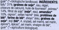 Tofusalade Amandel Prei - Ingredients - fr