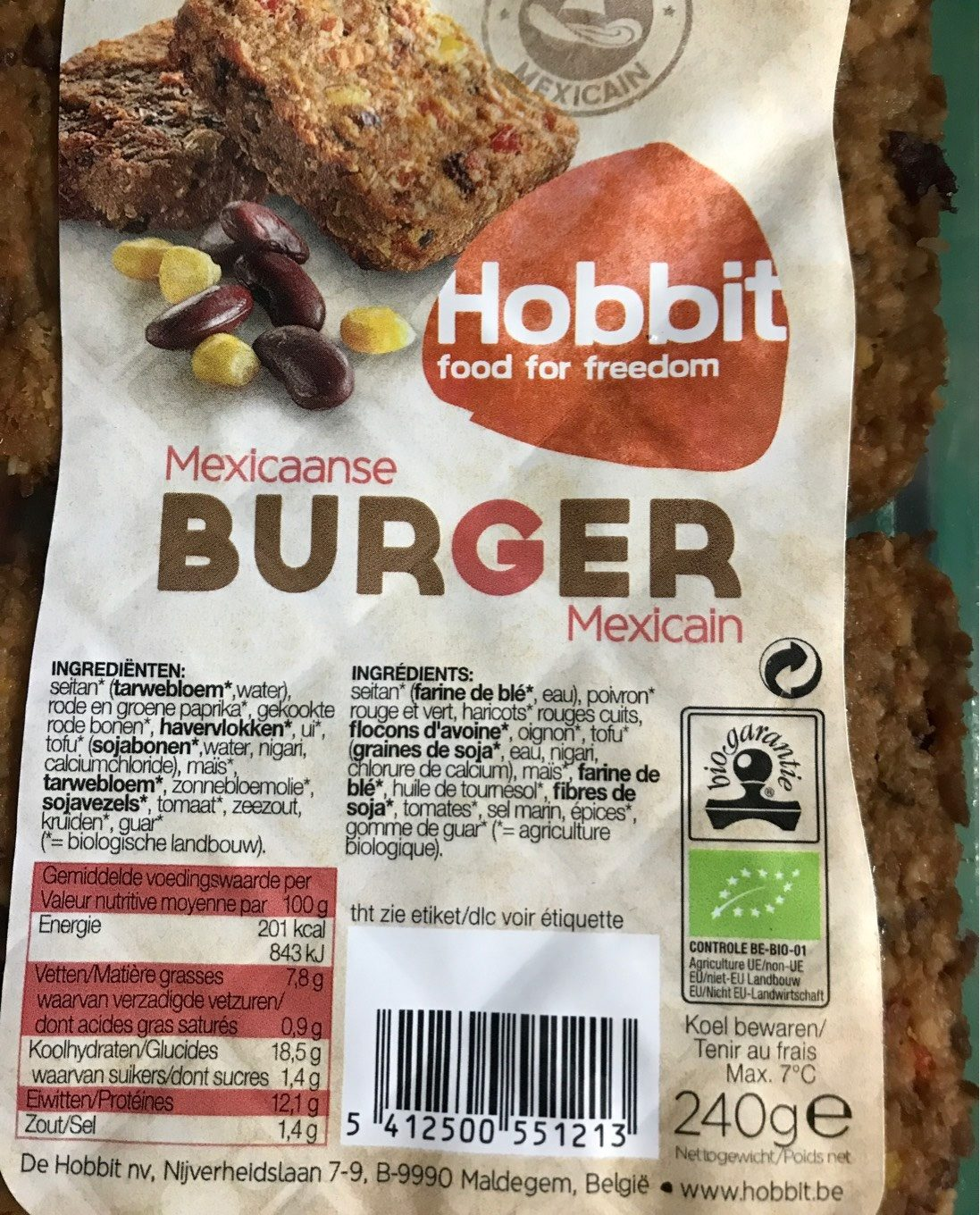 Burger Mexican - Product
