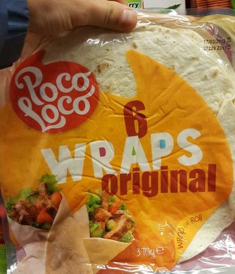 6 wraps original - Product