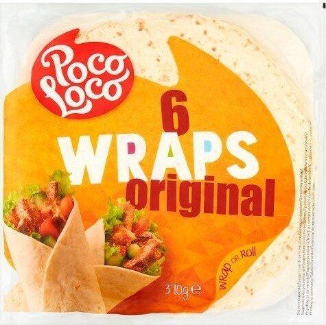 6 Original Wraps - Produit - fr