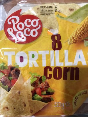 8 tortilas corn - Product