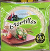 6 Tortillas bio - Produit