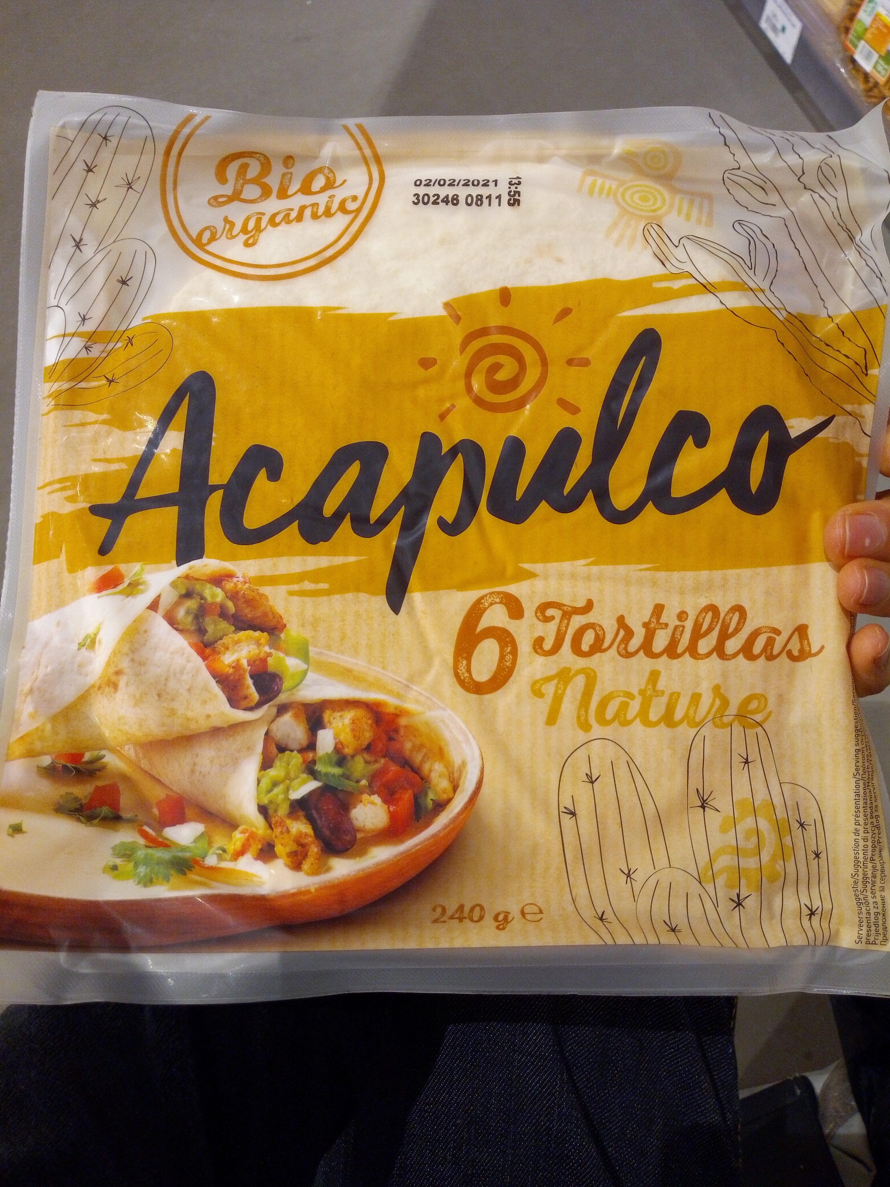 Tortillas Nature - Product - fr