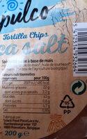 Tortillas - Ingredienti - fr