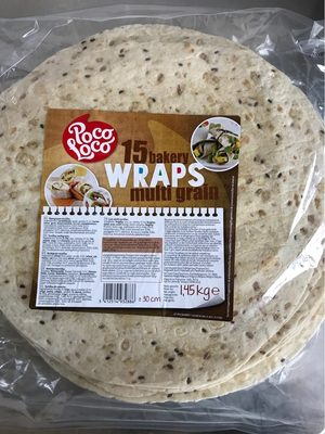 PQ 15 Tortillas Wraps MG 30CM Poco Loco - Product