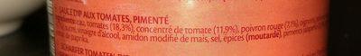 Dip Hot Mexicana - Ingrédients - fr