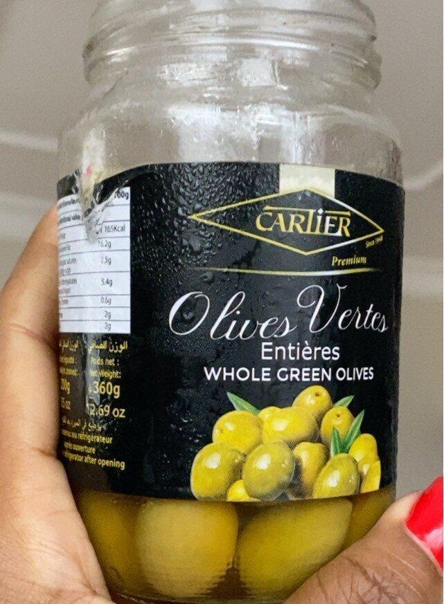 Olives vertes - Produit - fr