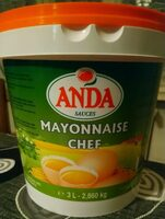 Mayonnaise chef - Product - fr