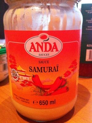 Sauce Samuraï - Product
