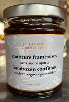 Confiture framboises - Product - fr