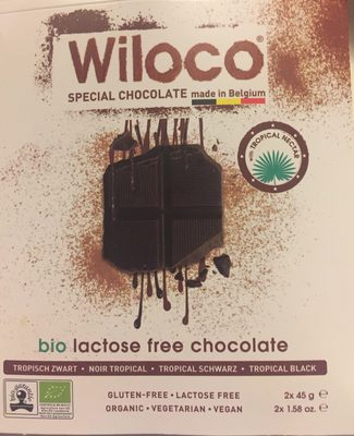 Wiloco special chocolate - Ingrediënten