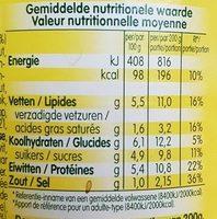 Sauce Bolognaise - Voedingswaarden