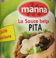 La sauce belge pita - Produit - fr