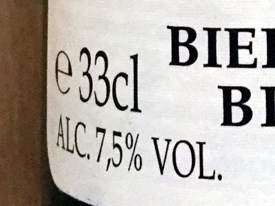 Bière Trappiste Rochefort 6 - Nutrition facts - fr