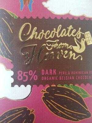 85 % dark belgian chocolate