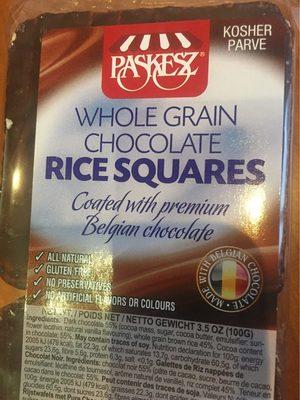 Galettes Riz Choco - Produit