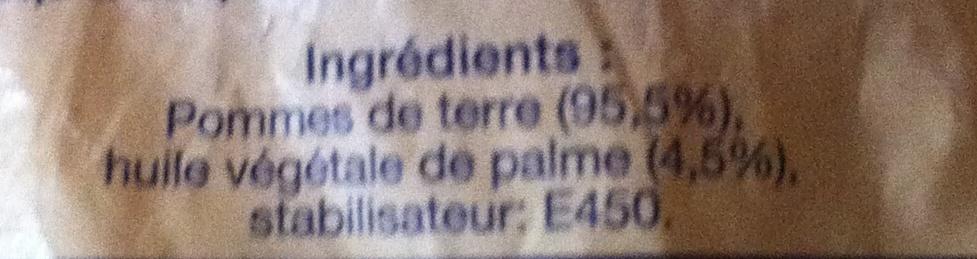 Pommes rissolées - Ingredients - fr