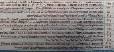 BIS KIDS JUS DE POMME - Informations nutritionnelles - fr