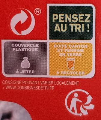 Daim cheesecake - Istruzioni per il riciclaggio e/o informazioni sull'imballaggio - fr