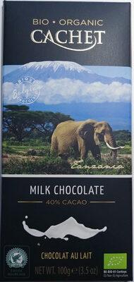 Chocolat au lait 37%- Bio - Produkt - pl