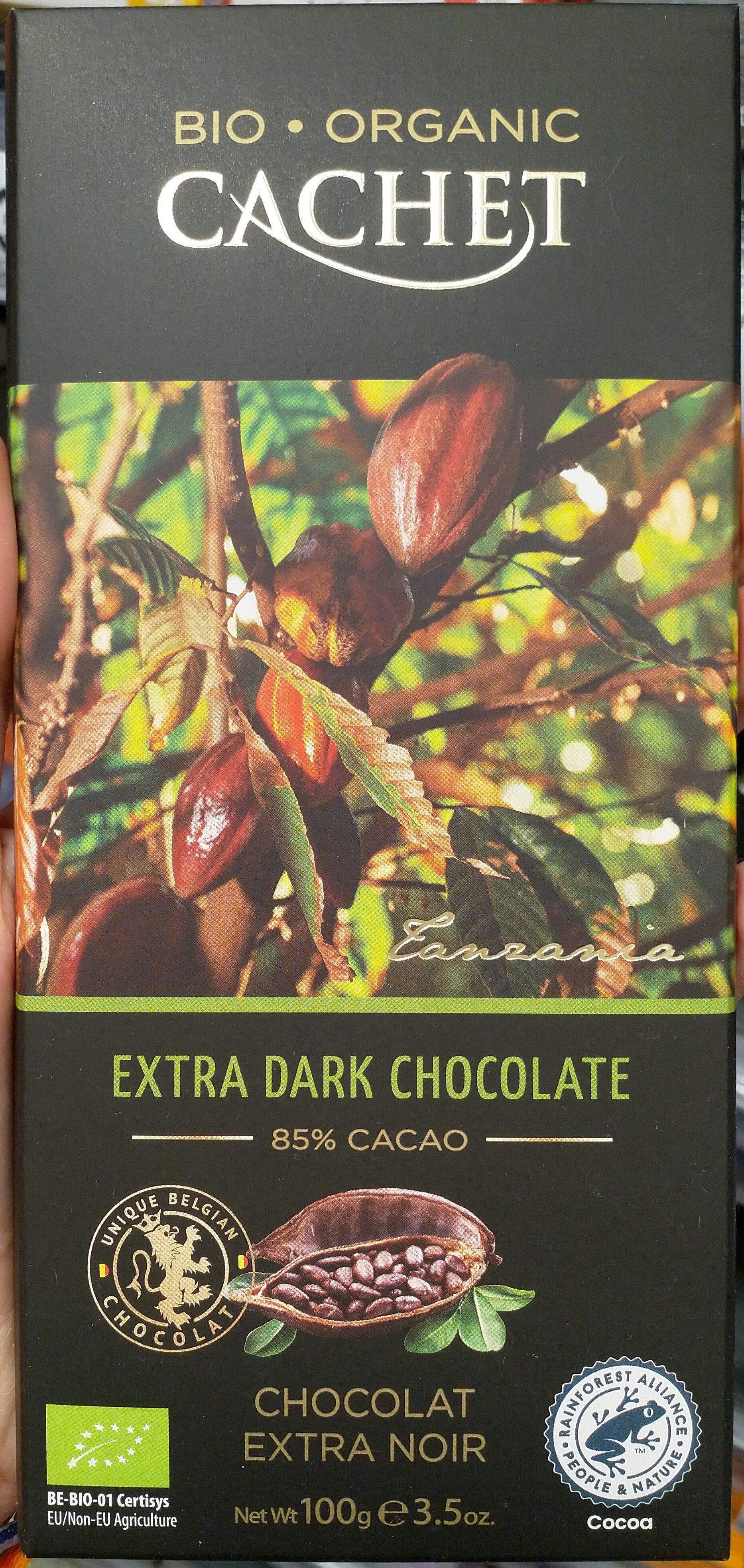 Extra dark chocolate 85% - Product - en