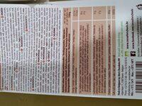 Cocoa Nibs - Información nutricional