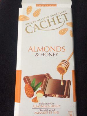 Chocolat Au Lait Amande Miel - Product - fr