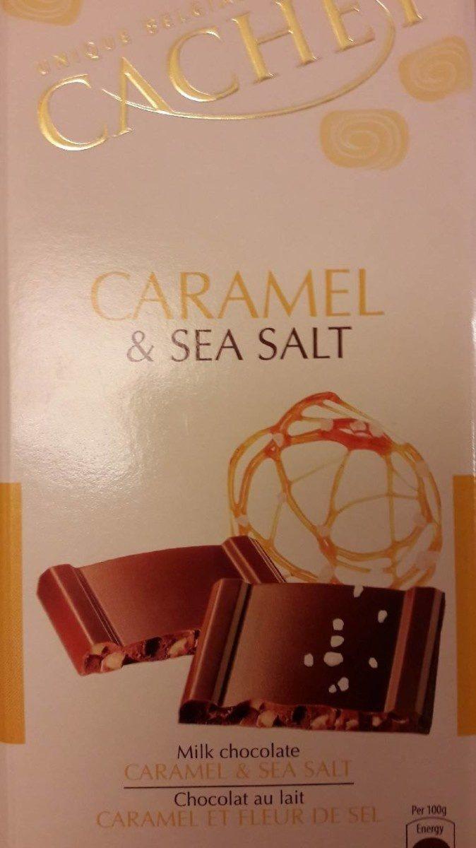 Chocolat au lait caramel et fleur de sel - Product