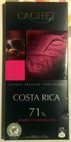 Chocolat Costa Rica 71% - Product - fr