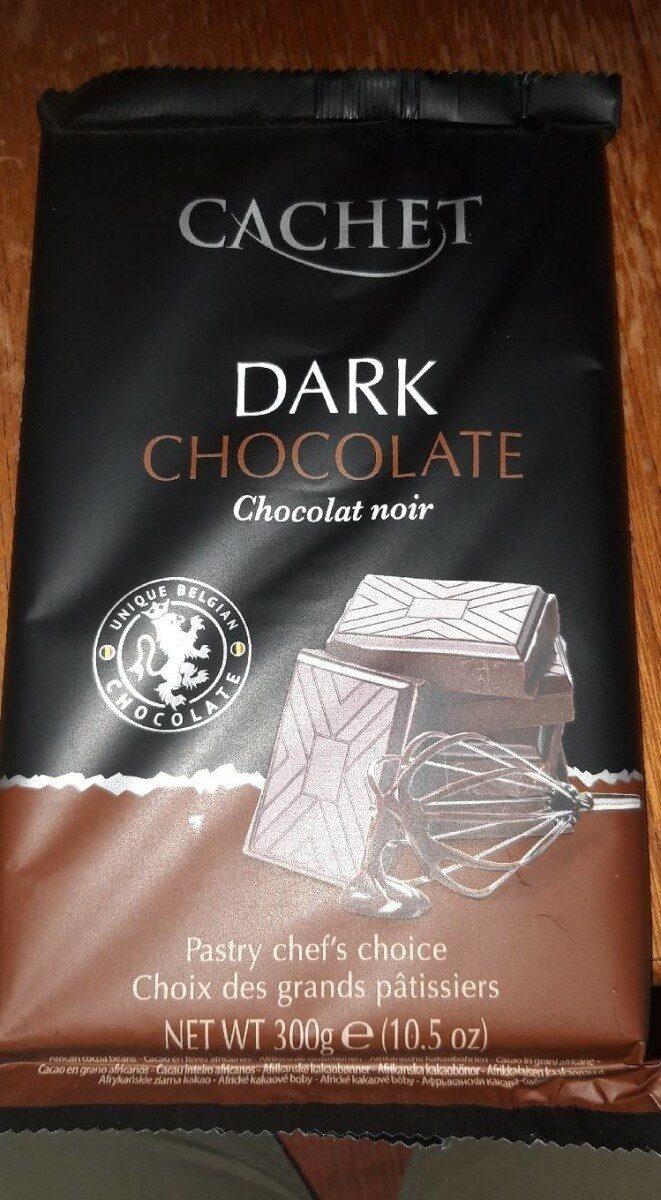 Dark chocolate cachet - Produit - fr