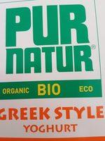 Pur Natur bio Greek style - Product - fr