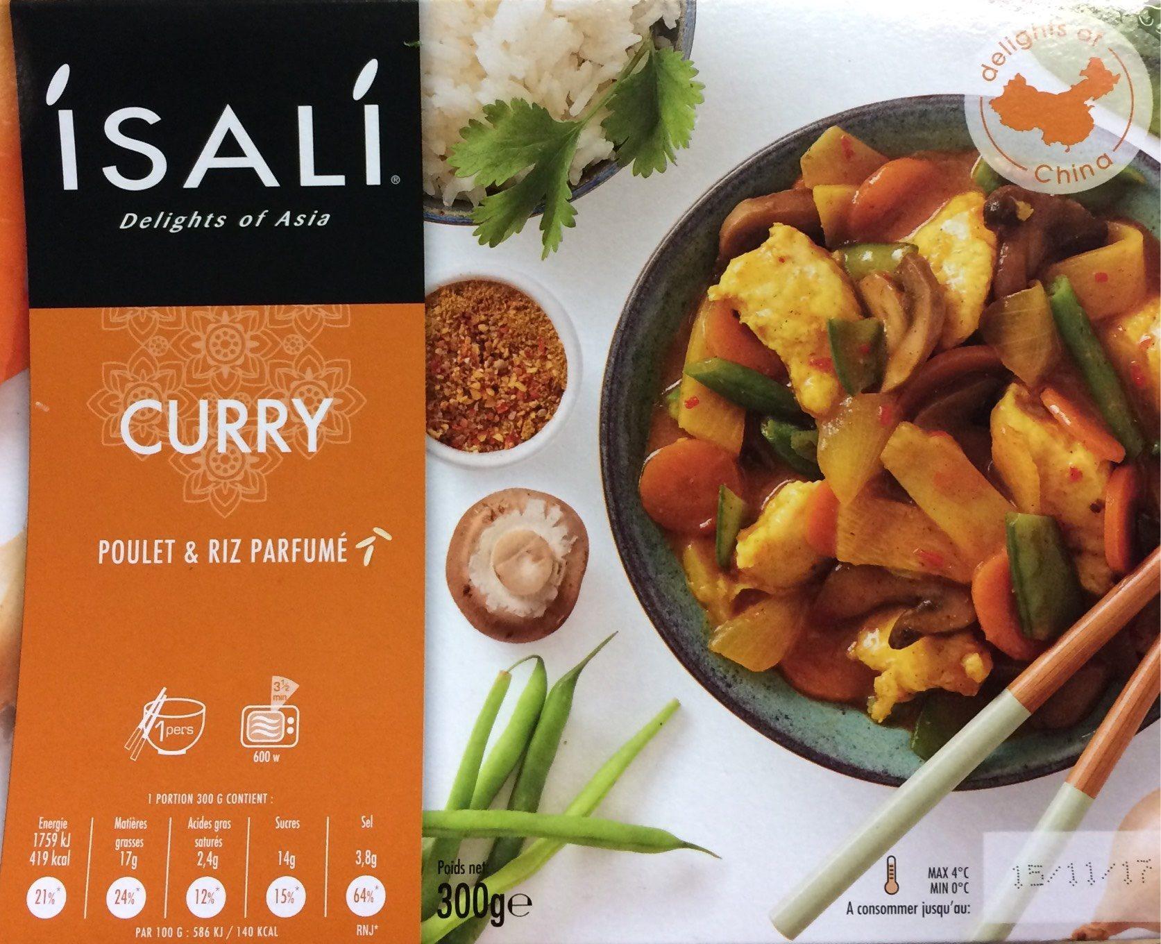 Poulet Curry & riz parfumé - Product