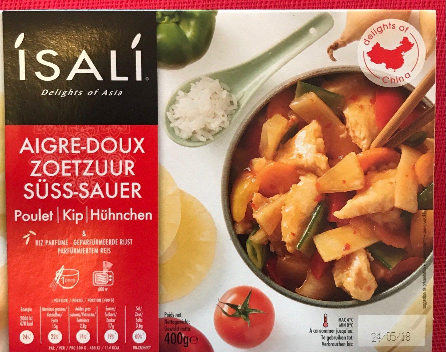 Poulet aigre-doux et riz parfumé - Product - fr