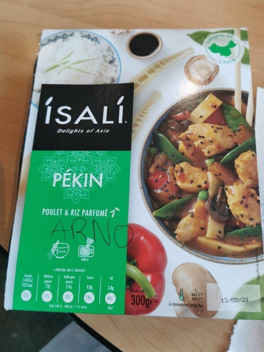 Isali Pékin poulet et riz parfumé - Product - fr
