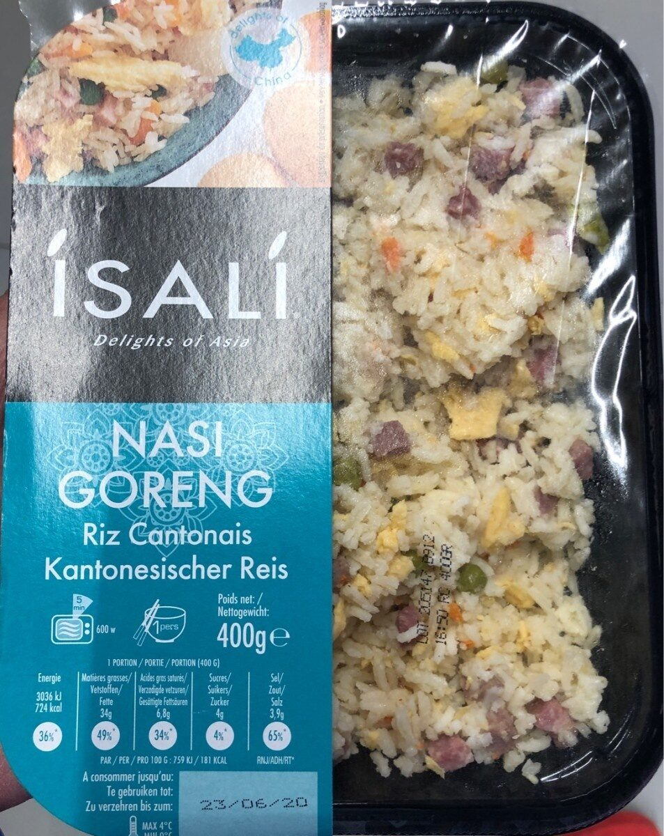 Riz cantonais Nasi Goreng - Produit - fr