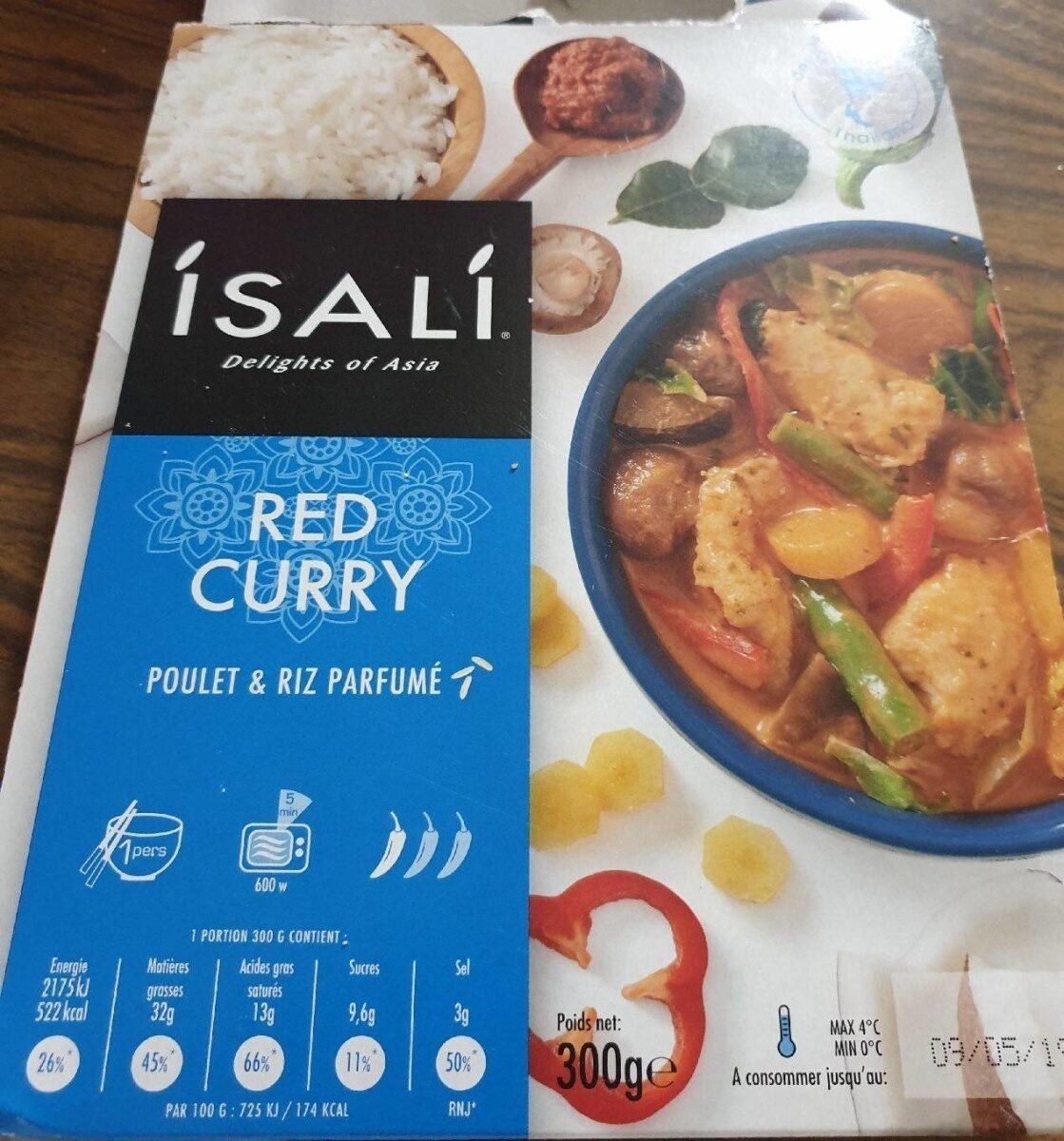Red curry poulet et riz parfumé - Product - fr